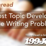 Blog post Topic Development & Article Writing Problems